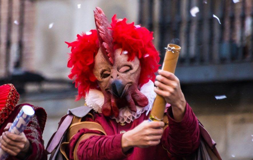 Imagen de un pregón de carnaval en Madrid | WIKIPEDIA