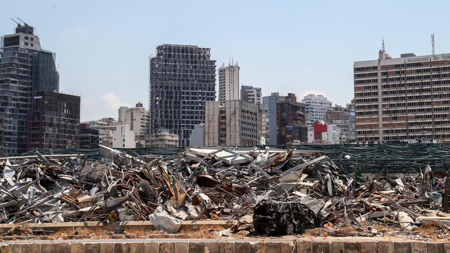 Un año después de la explosión de Beirut aún queda mucho por reconstruir