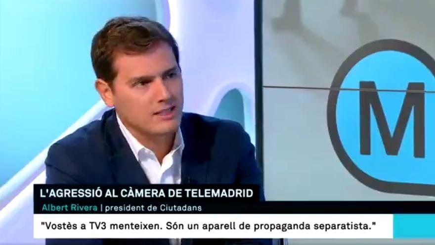 Albert Rivera, en TV3