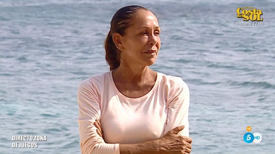 Isabel Pantoja promete abandonar 'Supervivientes' en 4 días