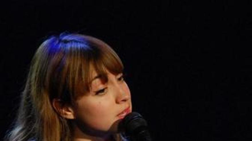 La cantante Lourdes Hernández, conocida como Russian Red