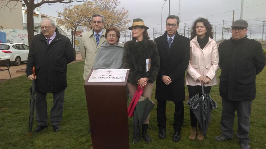 Acto de homenaje al alcalde franquista Eugenio Molina Muñoz