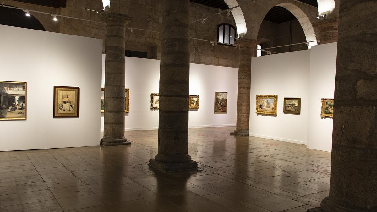 El Palacio Almudí inaugura una exposición de los pintores murcianos que forman parte de la colección del Museo del Prado
