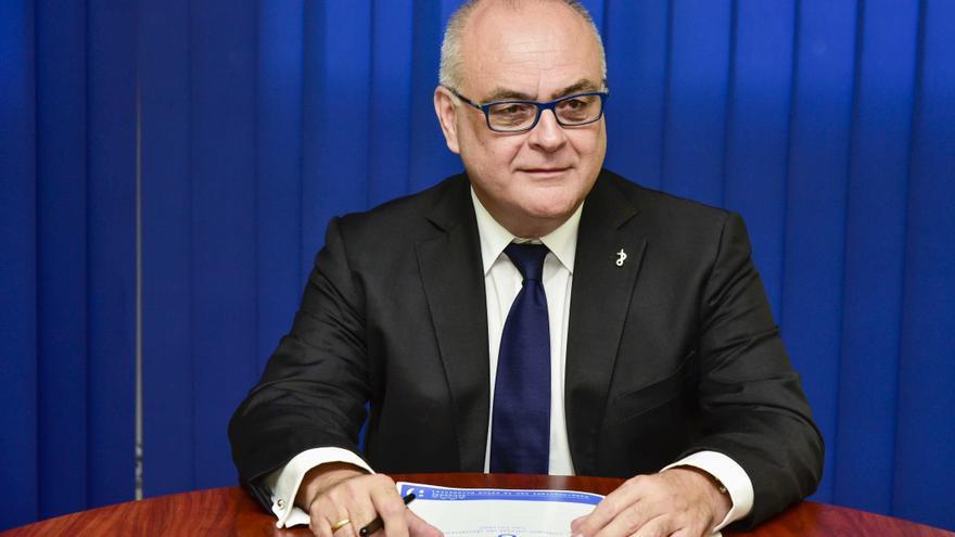 Francisco Cabrera, presidente del Colegio de Dentistas de Las Palmas