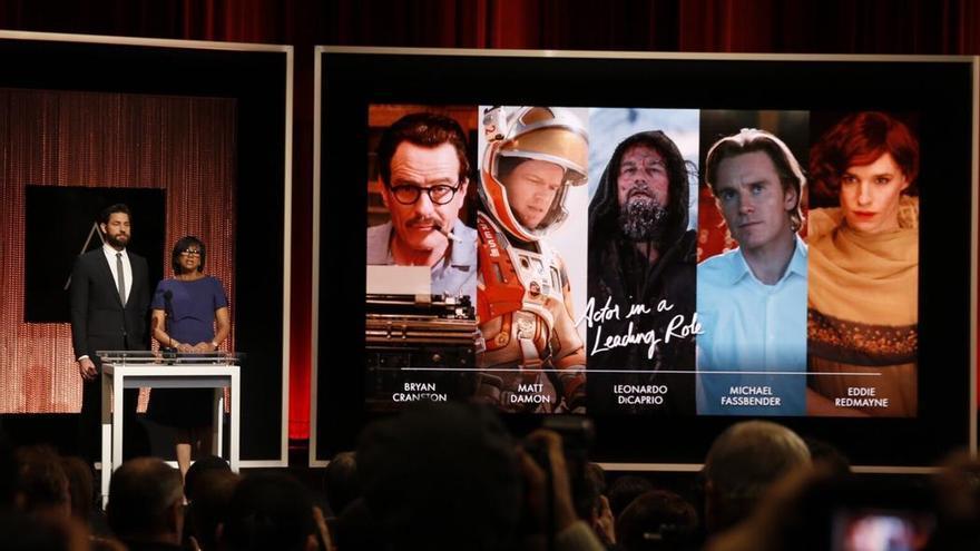Los cinco candidatos que compiten en la categoría al Oscar a Mejor Actor