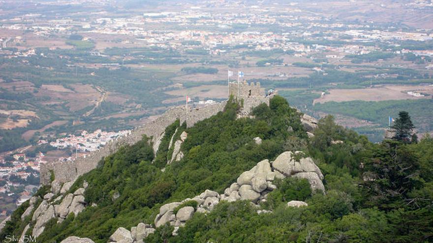 Castillo de los Moros, en las alturas de Sintra. Silvia Samo