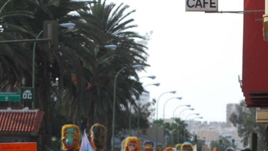 Manifestación del 12M en LPGC #14
