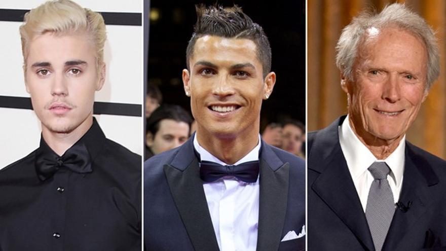 Justin Bieber, Cristiano Ronaldo y Clint Eastwood podrían protagonizar una película