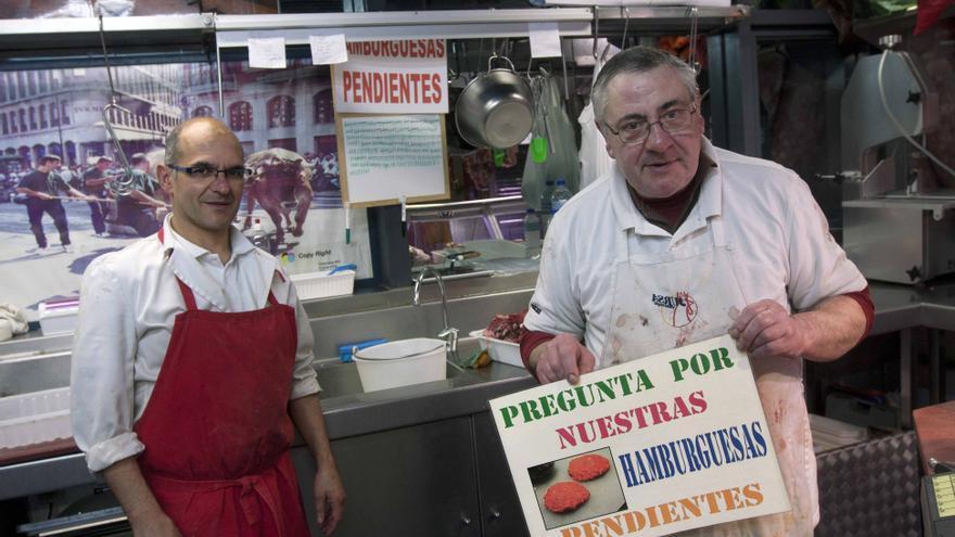 La Carnicería Rodo ha adaptado los 'cafés pendientes' a las 'hamburguesas pendientes'.