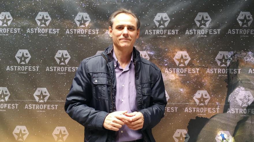 Carlos Fernández es coordinador del III Seminario Internacional de Astroturismo.