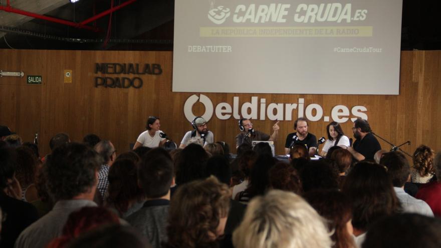 El Debatuiter de Carne Cruda en el 5º aniversario de eldiario.es