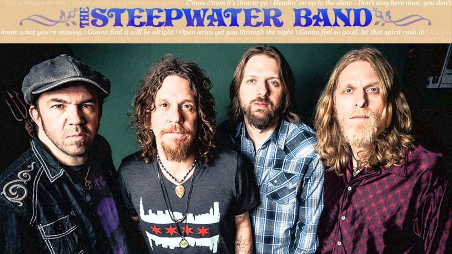 La gira de The Steepwater Band para el jueves en Villava y el viernes en Bilbao.