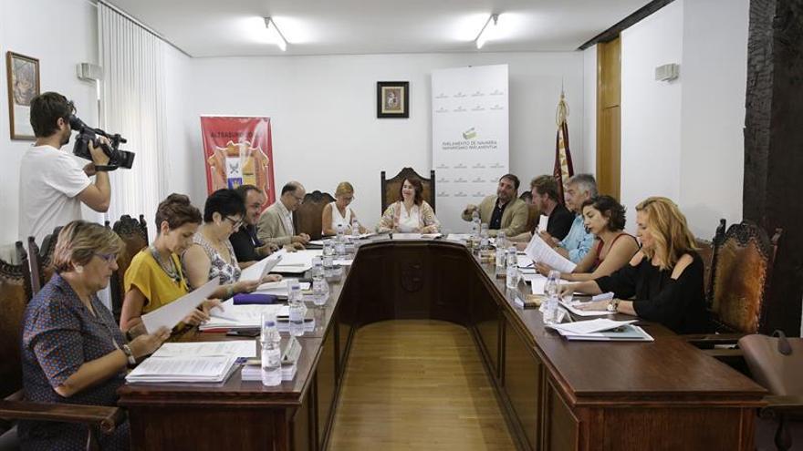 """El Parlamento foral """"condena la masacre"""" de Hipercor con la abstención de Bildu"""