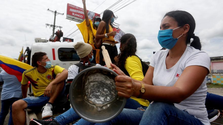 Cali, el foco al que se dirigen las miradas de las protestas en Colombia