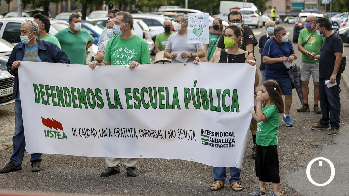 Las Marchas de la Dignidad de Córdoba convocan una marcha por la educación pública
