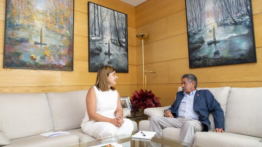 Revilla y Buruaga recuperan la relación PRC-PP y colaborarán en temas trascendentales para Cantabria