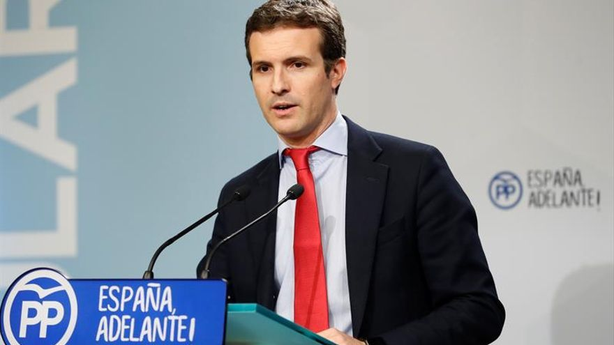 """Casado destaca la """"honorabilidad"""" de Rajoy, que """"no tiene información"""" de Gürtel"""
