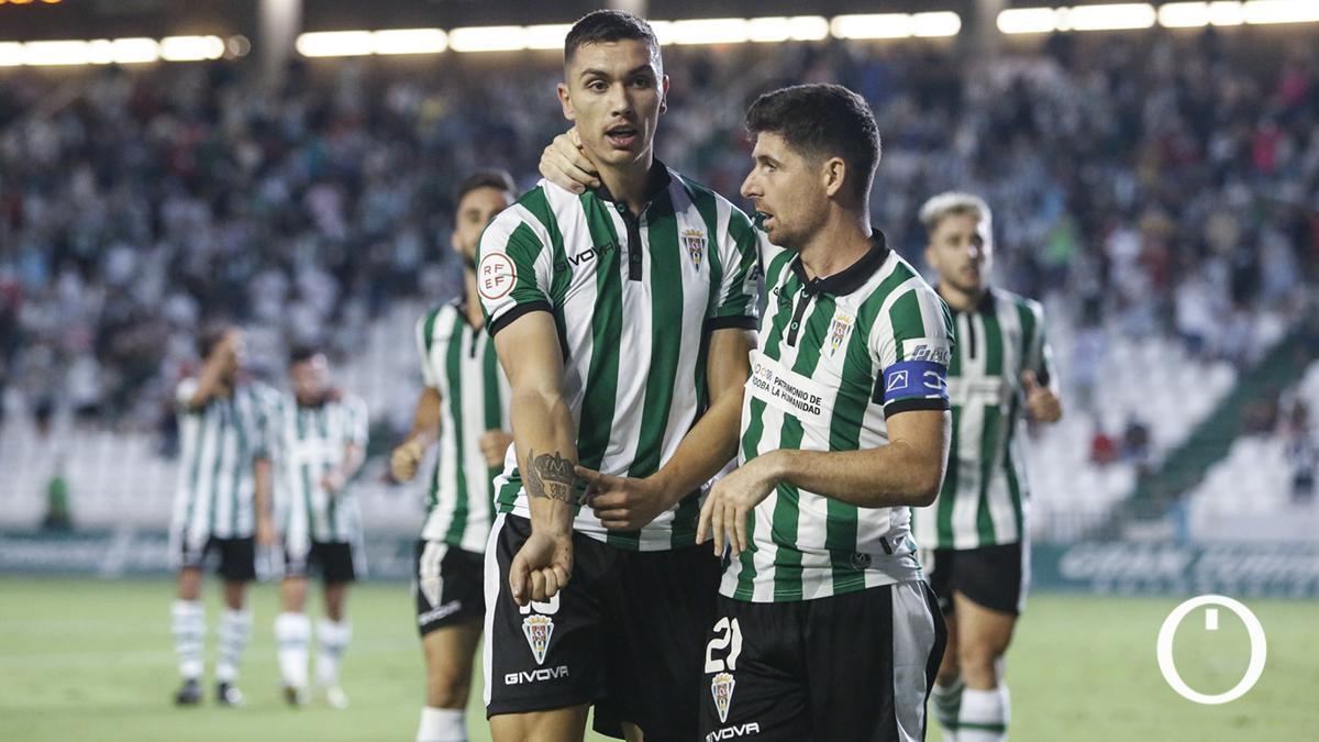 Primer gol de Fuentes con el Córdoba CF
