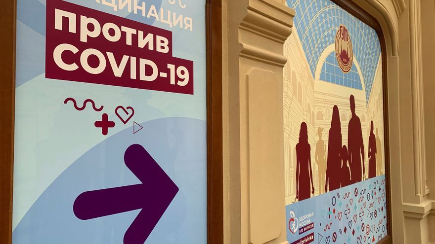 Rusia registra la cifra más baja de contagios de covid-19 en casi seis meses