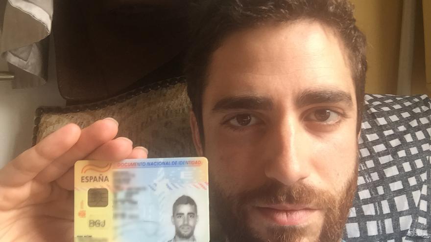 José Bautista, uno de los emigrantes españoles que no podrá votar si hay nuevas elecciones