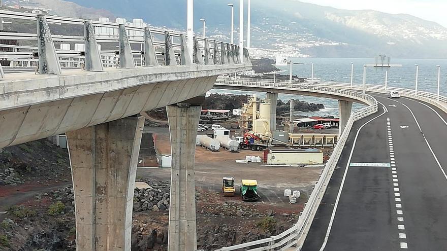 La planta de asfalto para renovar el pavimento del Aeropuerto de La Palma se desmontará al finalizar la obra