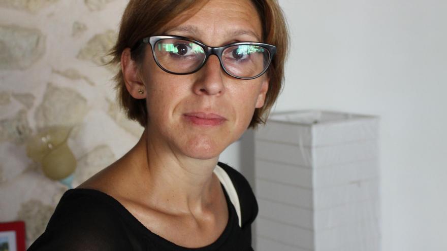 """Catalina Gayà, autora de """"El mar es tu espejo"""". Imagen cedida."""