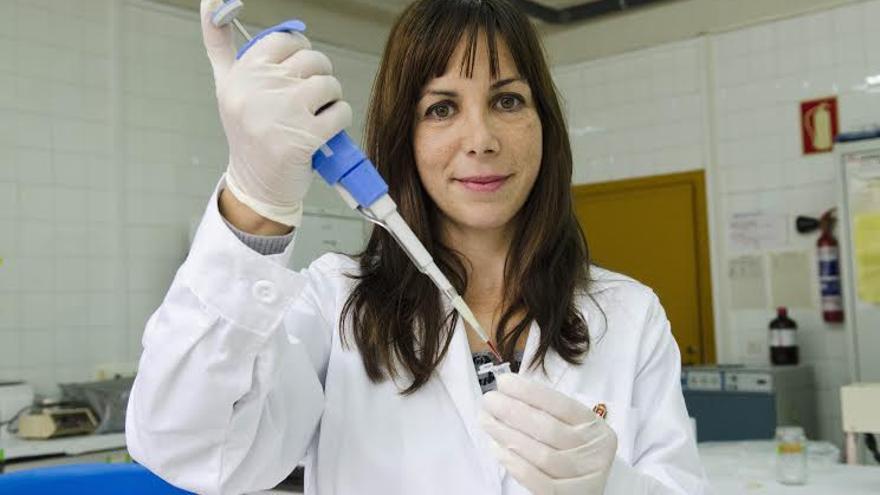 La investigadora Ainhoa Fernández-Atuxa.