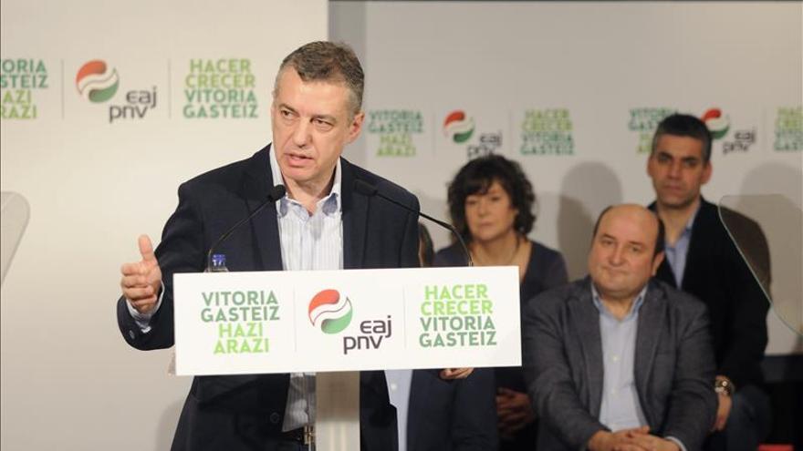 Ortuzar dice que Euskadi no debe ser España porque Rajoy no habla de nosotros