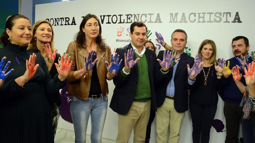 """Moreno pide a Díaz que siga el """"ejemplo"""" del pacto de estado contra la violencia de género y propone uno andaluz"""