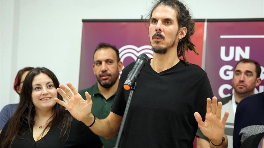 El secretario de organización de Podemos, Alberto Rodríguez.