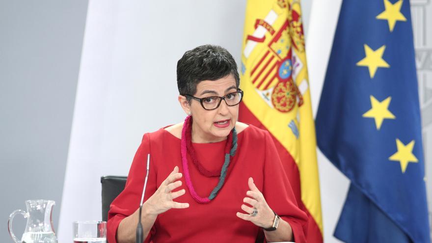 La ministra de Asuntos Exteriores, Unión Europea y Cooperación, Arantxa González Laya
