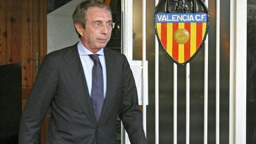 El expresidente del Valencia Club de Fútbol, Vicente Soriano