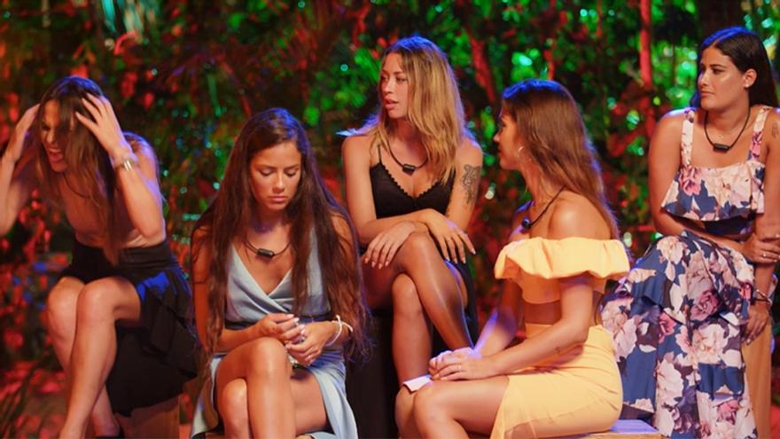 Hoguera de las chicas en 'La isla de las tentaciones'