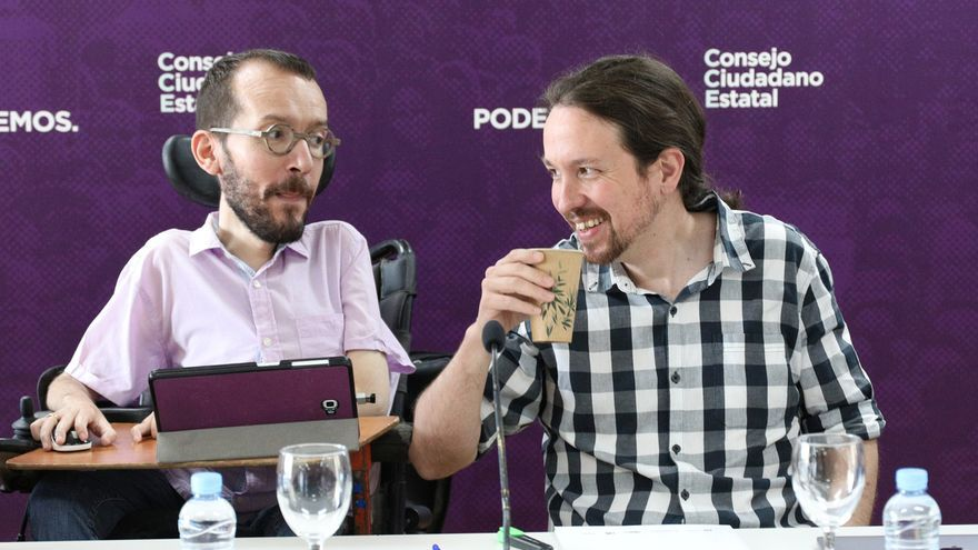 Iglesias pedirá mañana a Sánchez conformar un gobierno de coalición  proporcional a los escaños que tiene. .