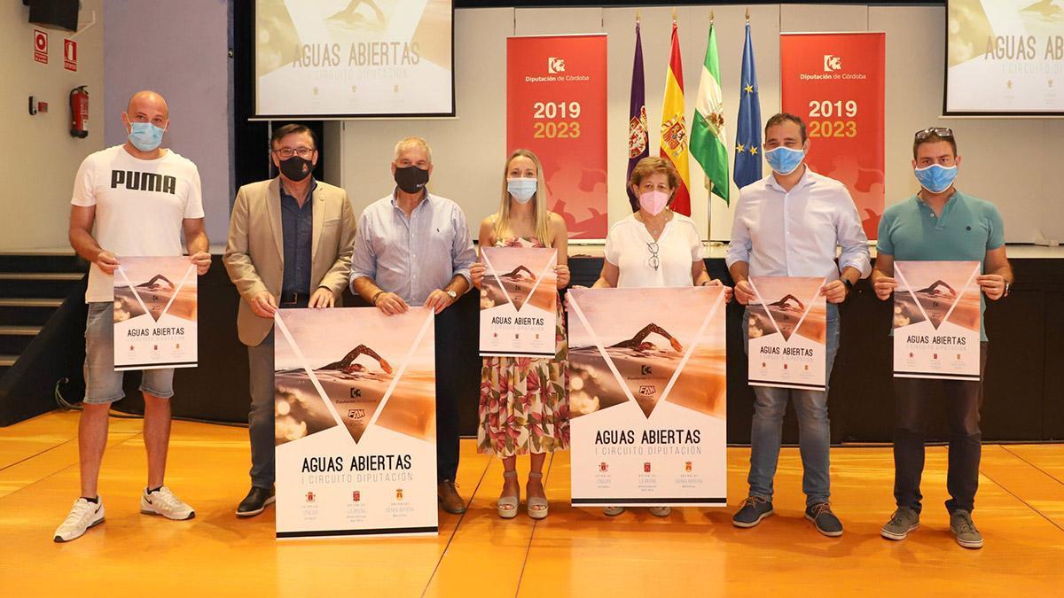 Presentación del I Circuito de Aguas Abiertas de Córdoba.