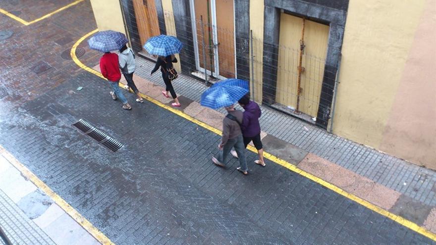 Día de lluvia en Tenerife (Europa Press)
