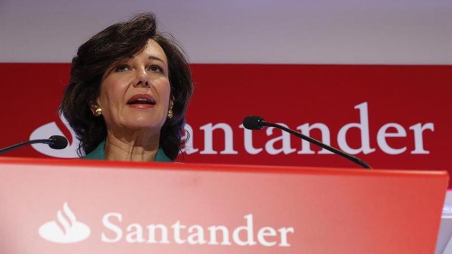 El Santander ganó 914 millones de euros en España sin el Popular, un 61 por ciento más