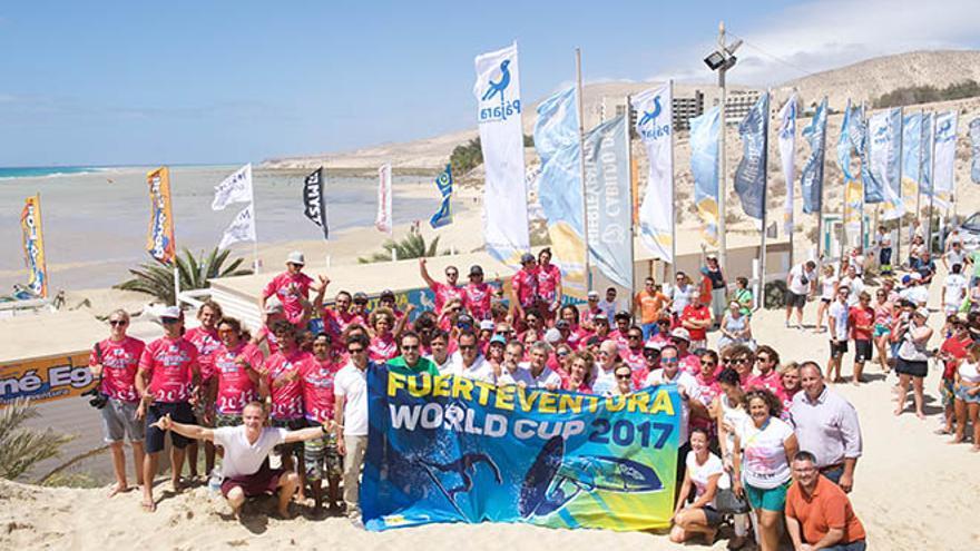 Campeonato del Mundo de Windsurfing y Kiteboarding de Fuerteventura