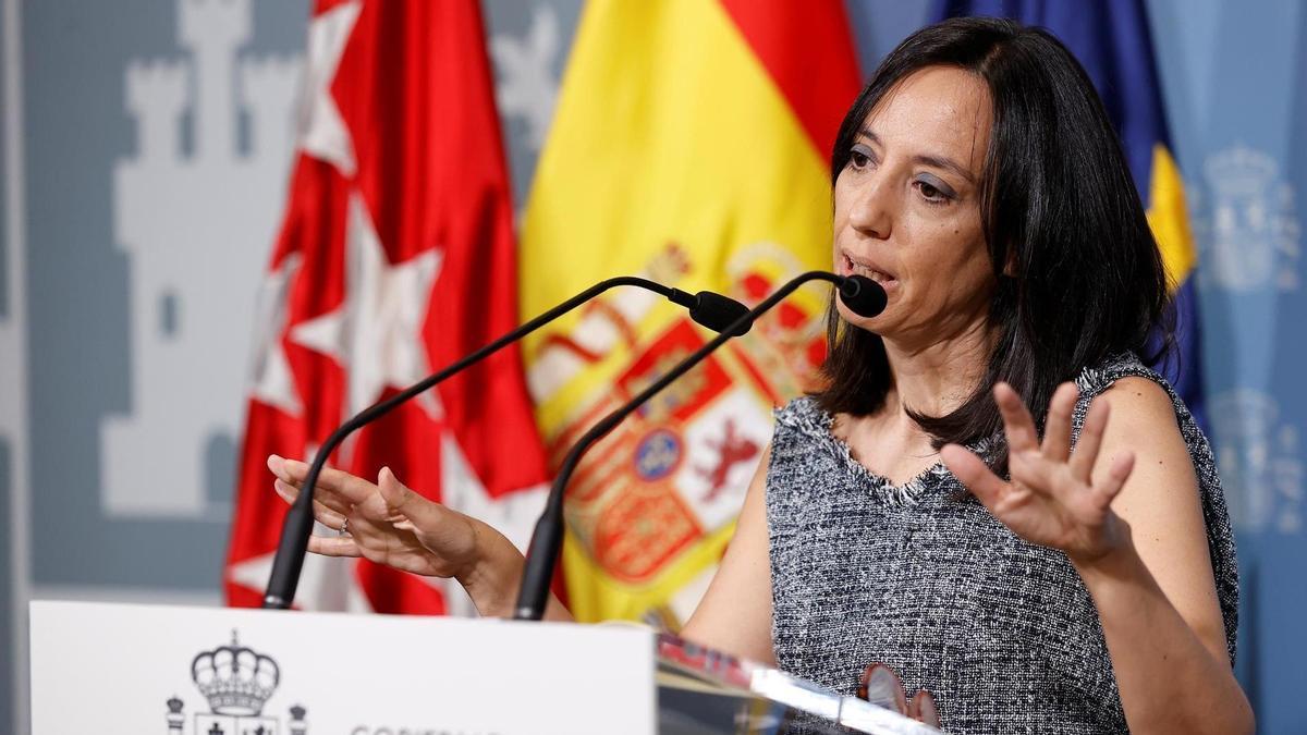 La delegada del Gobierno en Madrid, Mercedes González, en una imagen de archivo