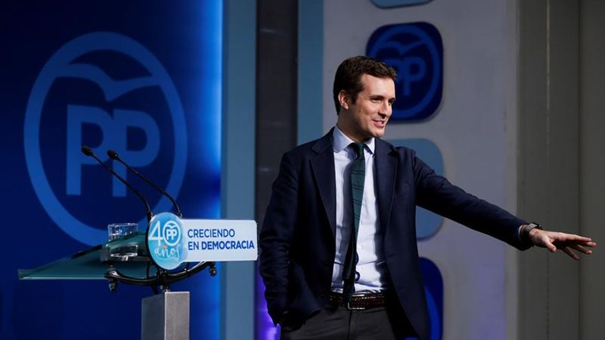 Casado: es injusto lo que está pasando Cifuentes, tiene todo el apoyo del PP
