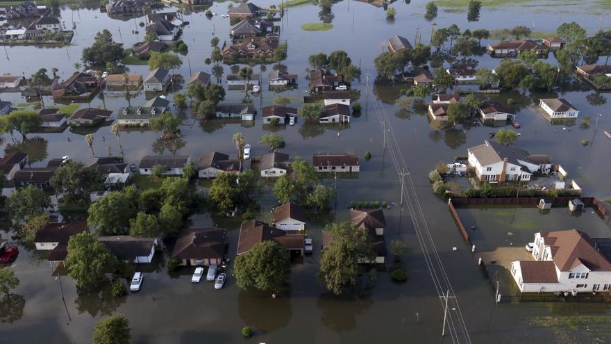 Port Arthur, Texas después del Huracán Harvey (1 de septiembre de 2017)   Foto: LM Otero GTRES