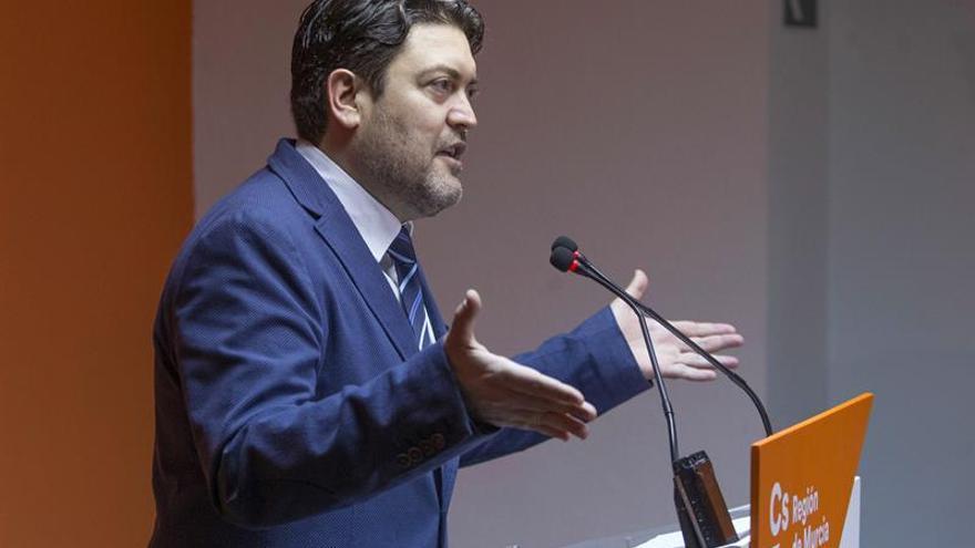 Cs quiere eliminar los aforamientos antes de investir nuevo presidente de Murcia