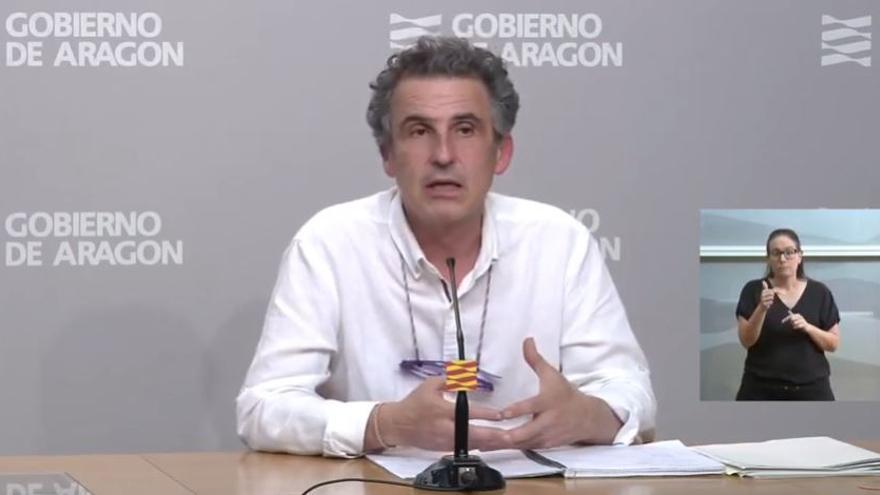 Francisco Falo, director General de Salud Pública de Aragón