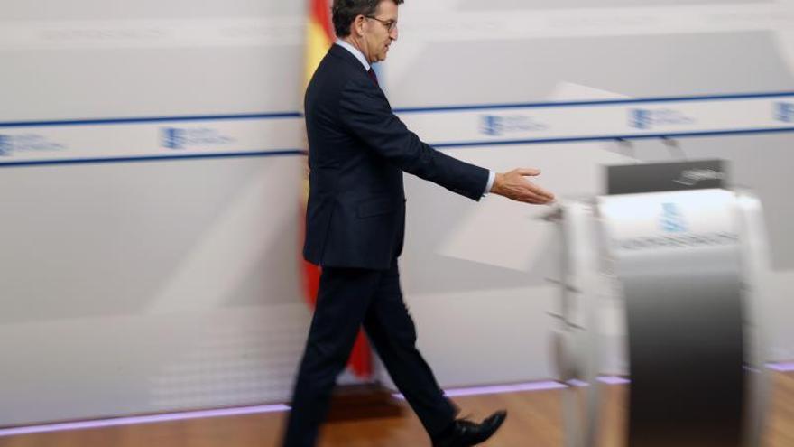 Feijóo afirma que Europa no se fía ni de las cuentas ni de la coalición PSOE-Podemos