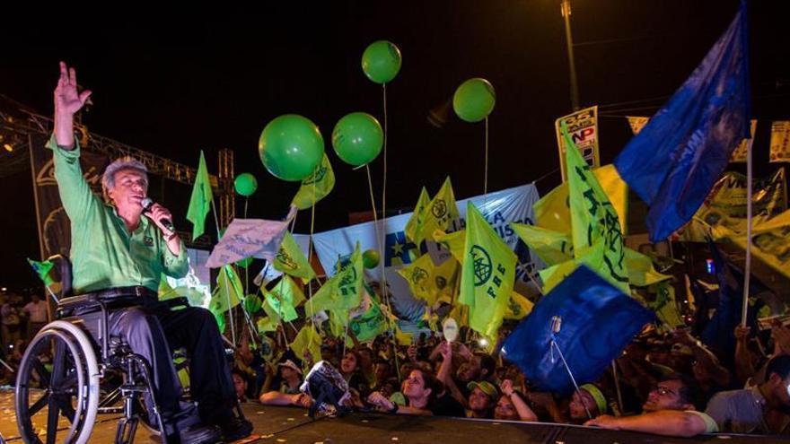 """Recorridos y concentraciones marcan un """"explosivo"""" cierre de campaña en Ecuador"""
