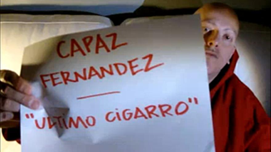 Captura del vídeo de Capaz anunciando nuevo disco