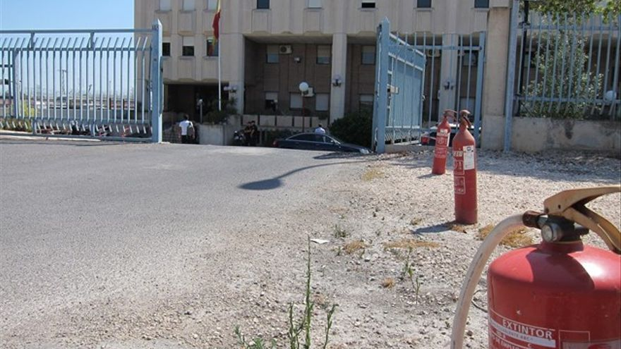 Centro de Internamiento de Extranjeros en Sangonera (Murcia)