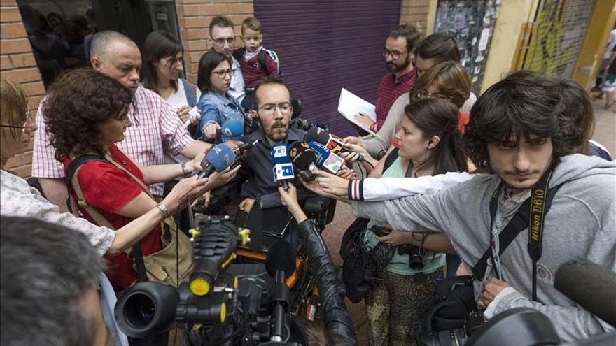 Echenique apoyaría con condiciones al PSOE en Aragón, sin entrar en el gobierno