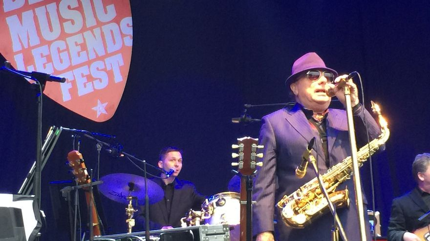 Van Morrison, el León de Belfast, en el BBK Music Legends Fest, en la Ola (Bizkaia).
