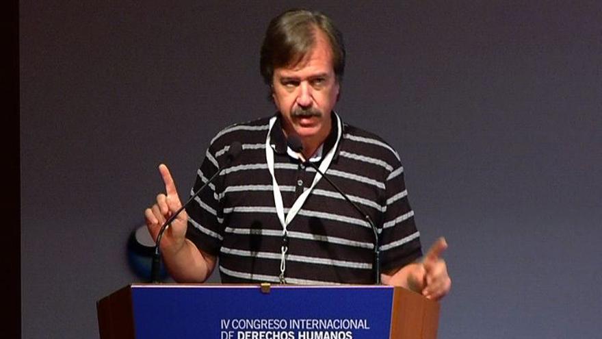 Daniel Raventós Pañella es profesor del Departamento de Teoría Sociológica, Filosofía del Derecho y Metodología de la Universidad de Barcelona./ irekia.net.